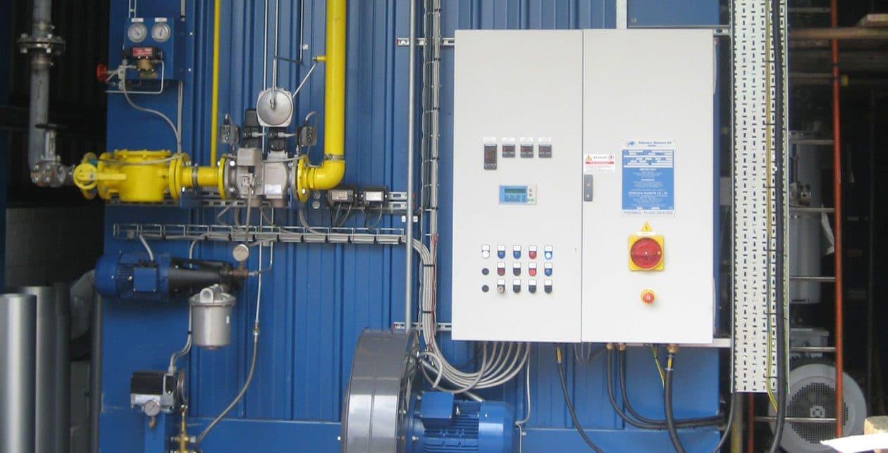 Total-Bitumen boiler