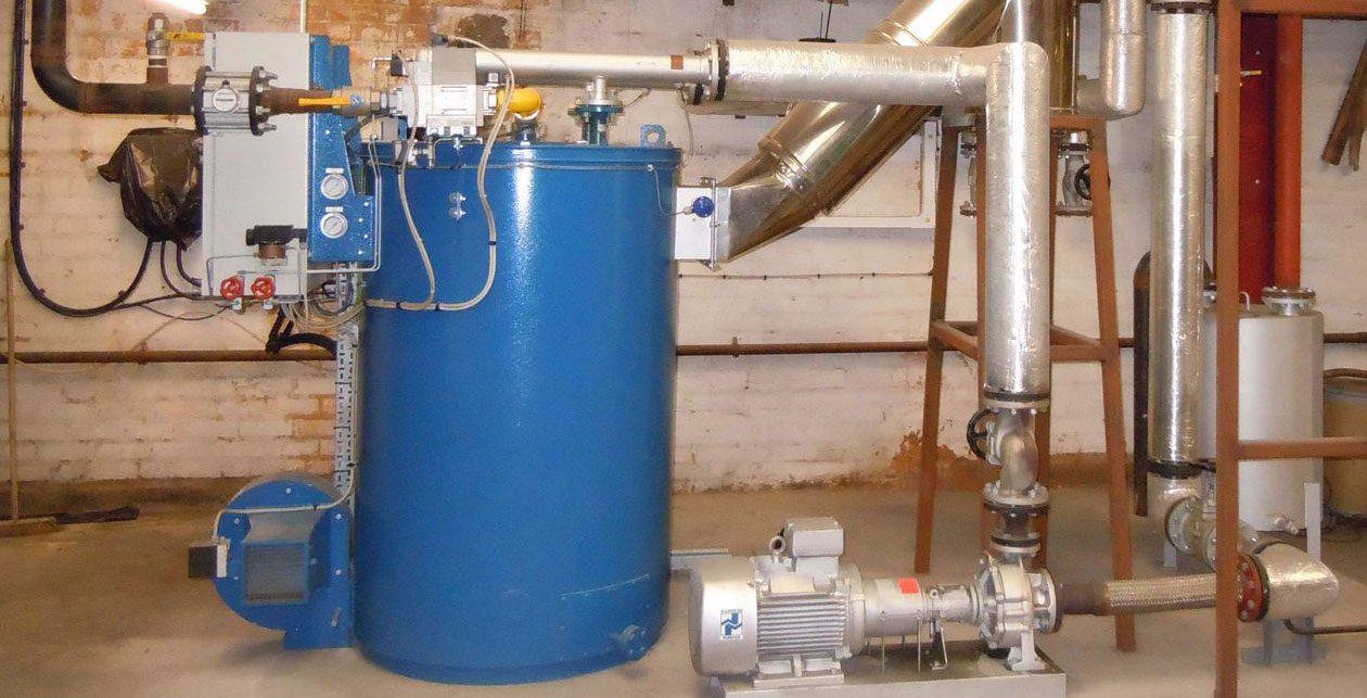 Webster-Horsfall boiler