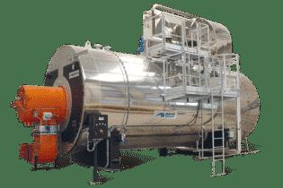 BWR Fire Tube Boiler