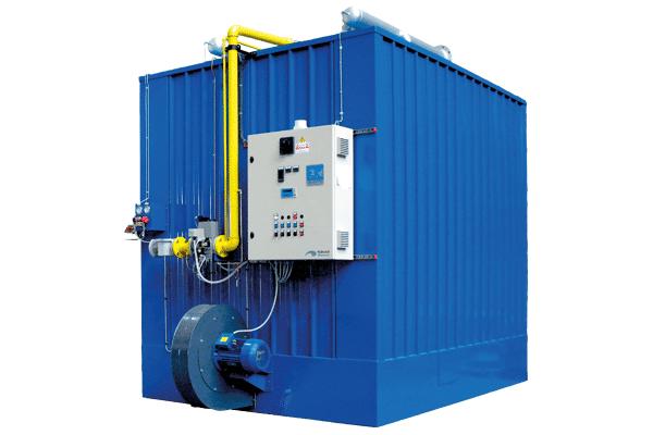 EPC-ES Calentadores de fluido térmico