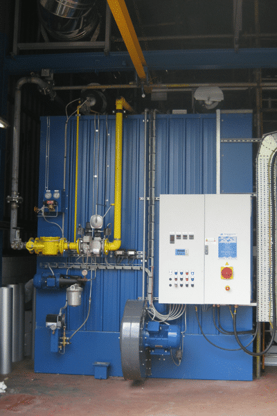 Caldeiras de fluido térmico EPC-ES