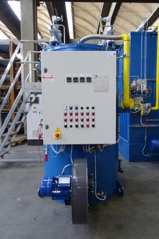 Série TPC-AS - Chaudière industrielle à eau chaude