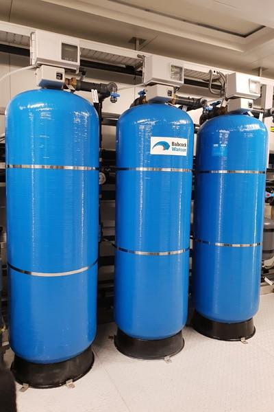 amaciamento de água industrial