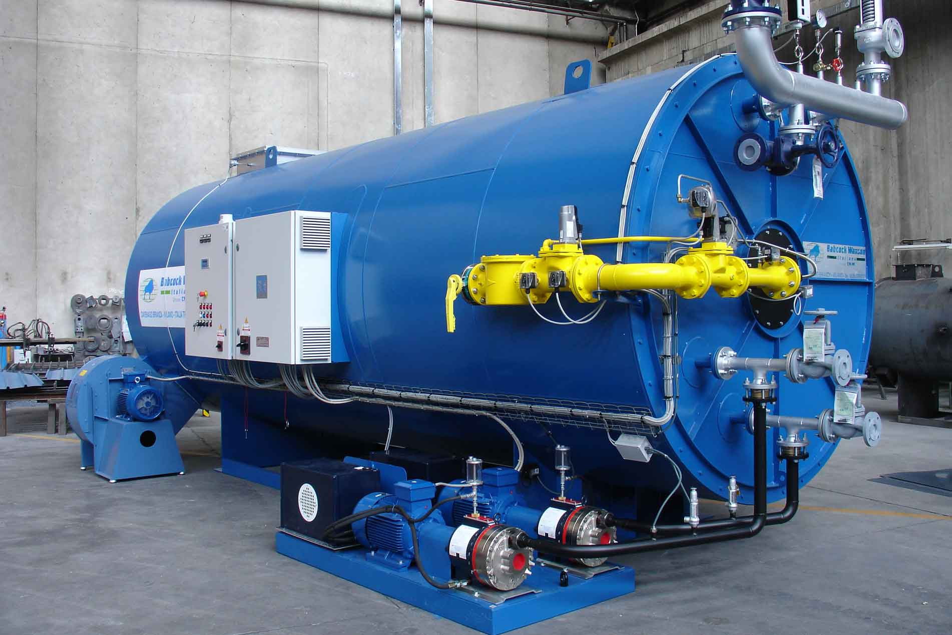 Babcock Wanson launches UK's first BOAS CAT 5 Training for Coil Boiler Operators