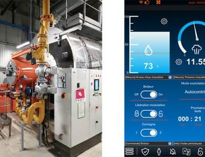 Modulo+500 industrial burner and modernized Navinergy interface