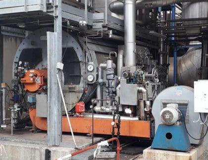 Steam Boiler Service et Maintenance at EDF VAZZIO Corsica