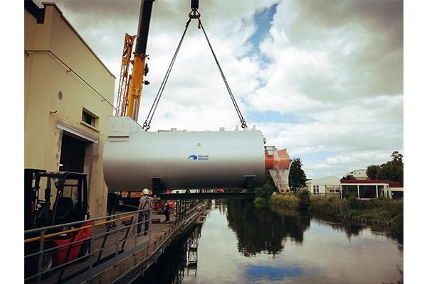 Boilers upgrades at Fesenius Kabi