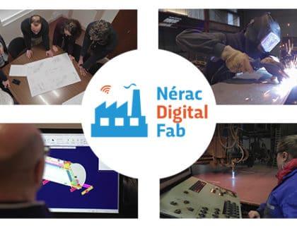 Projet Nérac Digital Fab