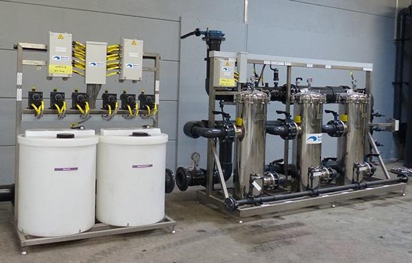 Process de traitement de l'eau pour chaudières vapeur
